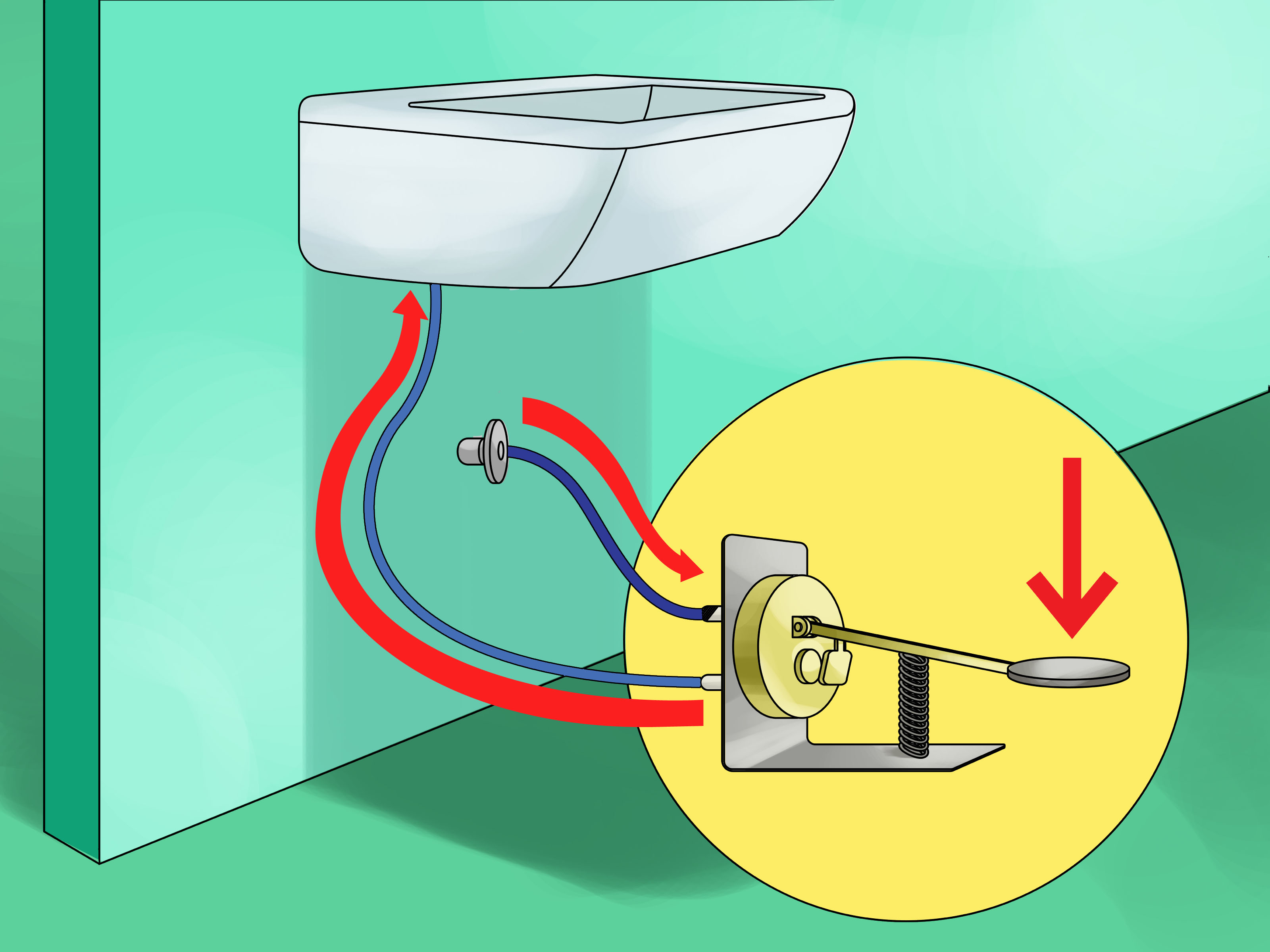 Faucet clipart water treatment. How to make foot