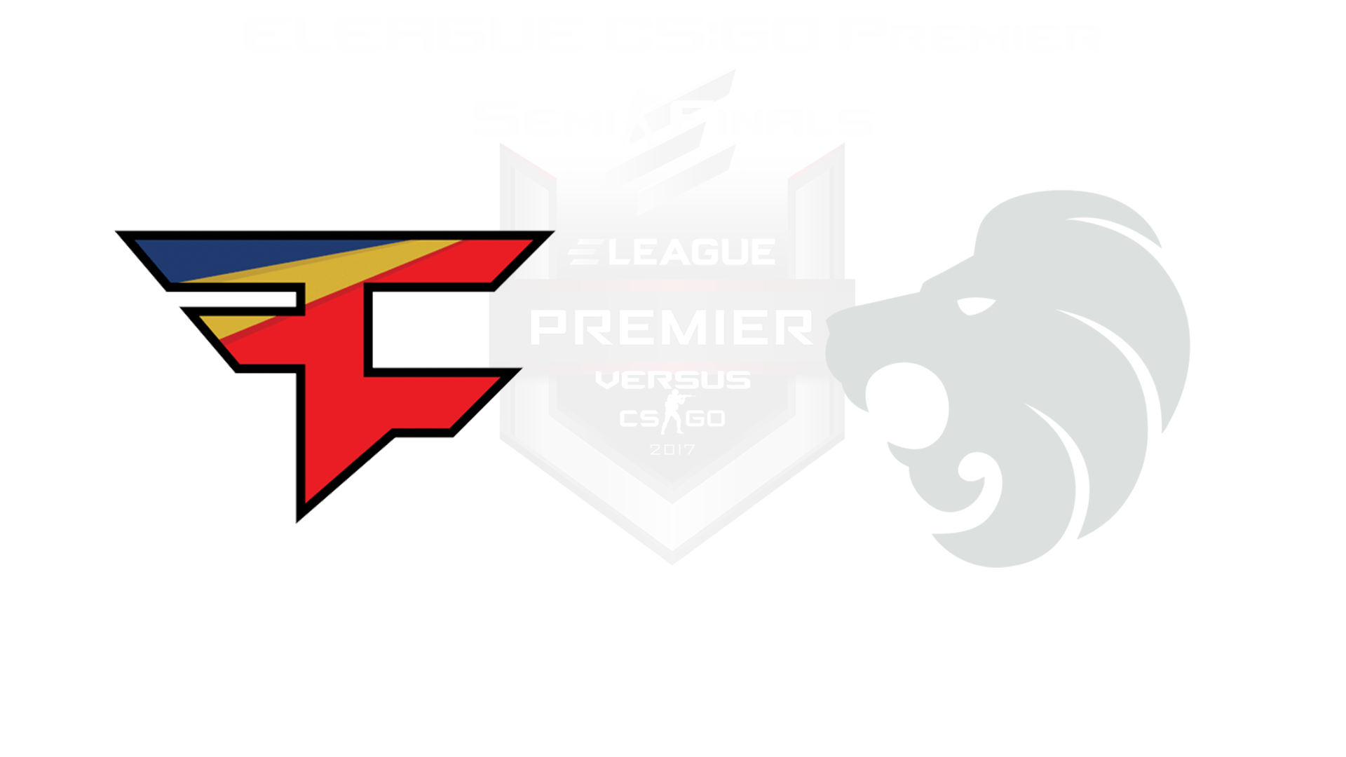 The Semifinals Matches For ELEAGUE CS