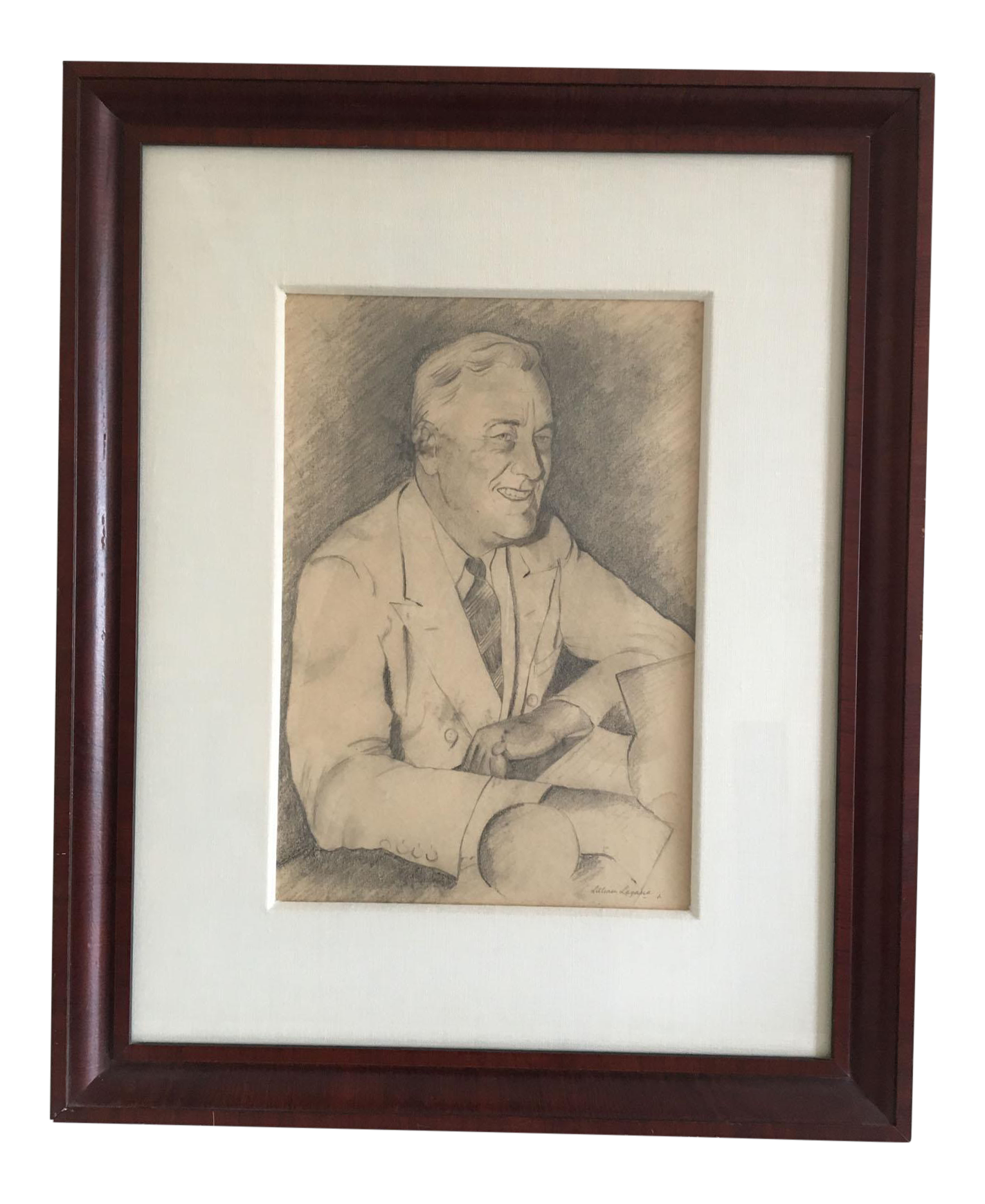 Fdr drawing painting. Our favorvite prez f
