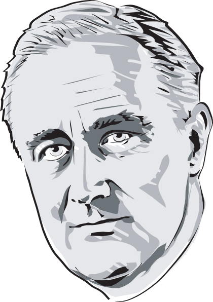 Fdr drawing white. Free roosevelt cliparts download