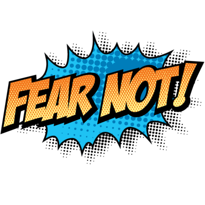 Fear clipart. Image not christart com