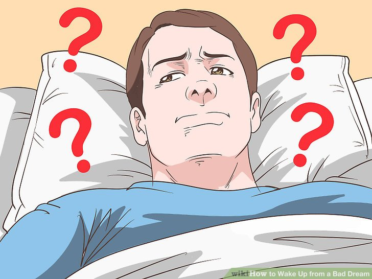 Fear clipart bad dream. How to wake up