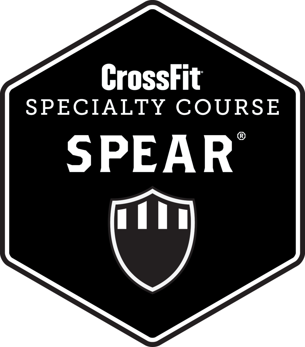 Fear the spear png. Crossfit workshop be your