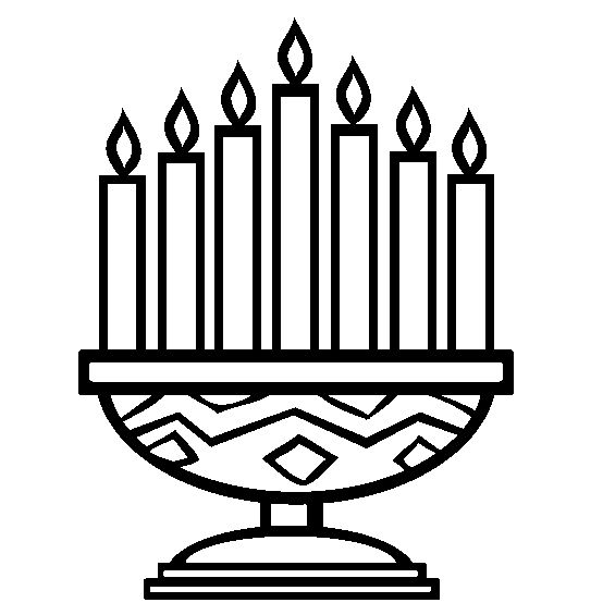 Feast clipart kwanzaa candle. The best images on