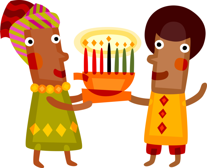 Feast clipart kwanzaa candle. Of first fruits celebration