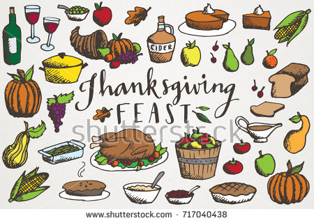 Thanksgiving clip art hand. Feast clipart meal png free download