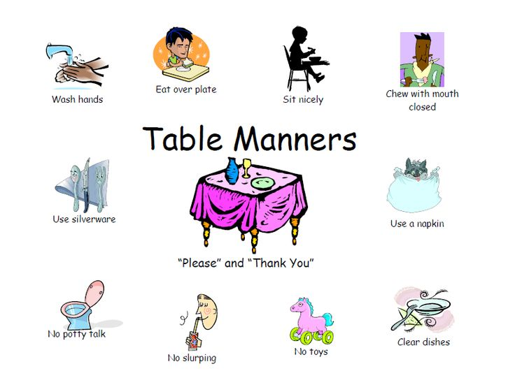 Feast clipart table manners. Best learning is