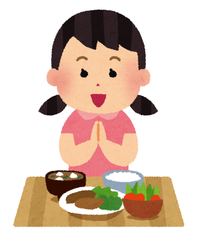 Feast clipart table manners. Japanese for beginners discovery