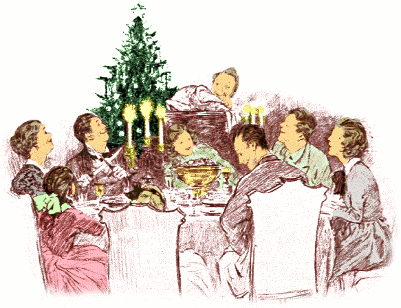 Feast clipart wealthy family. Group together pencil and