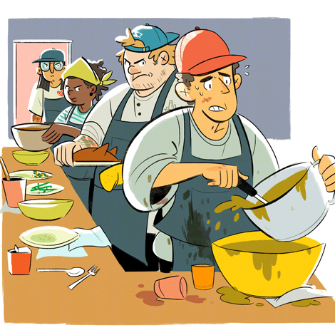 Feast clipart wealthy family. The life cycle of