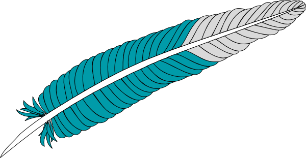 vector fur turkey feather