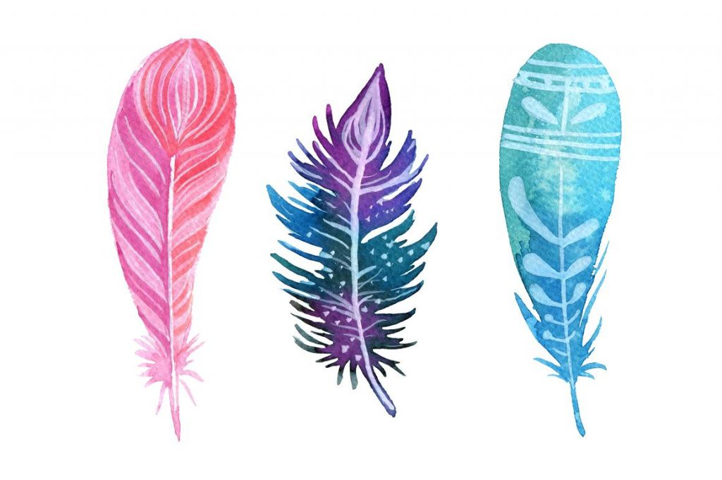 Feather clipart boho. Crafty design best drawing