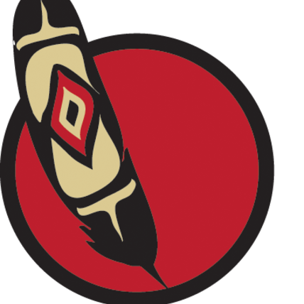 Feather clipart first nations. Onefeather sqewlets nation