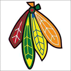 Feather clipart sticker. Chicago blackhawks custom printed