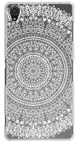 Feather mandala png. Cases white crystal clear