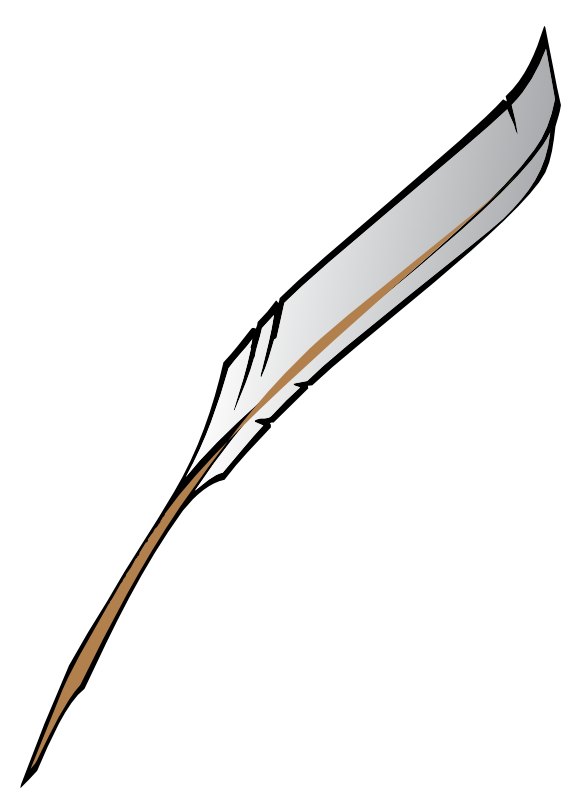 Feathers clipart pen and ink. Free quill cliparts download