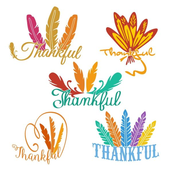 Feathers clipart thanksgiving. Feather cuttable design cut