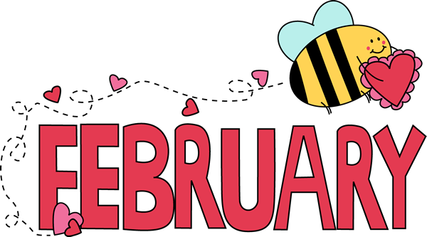 february clipart animated