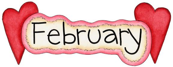 February clipart animated. Best month clip art