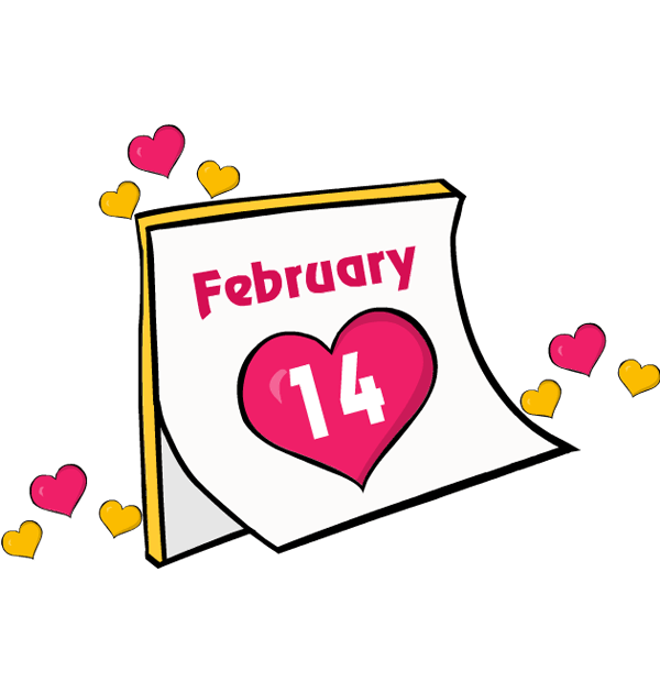 February clipart cute symbol. Free clipartingcom