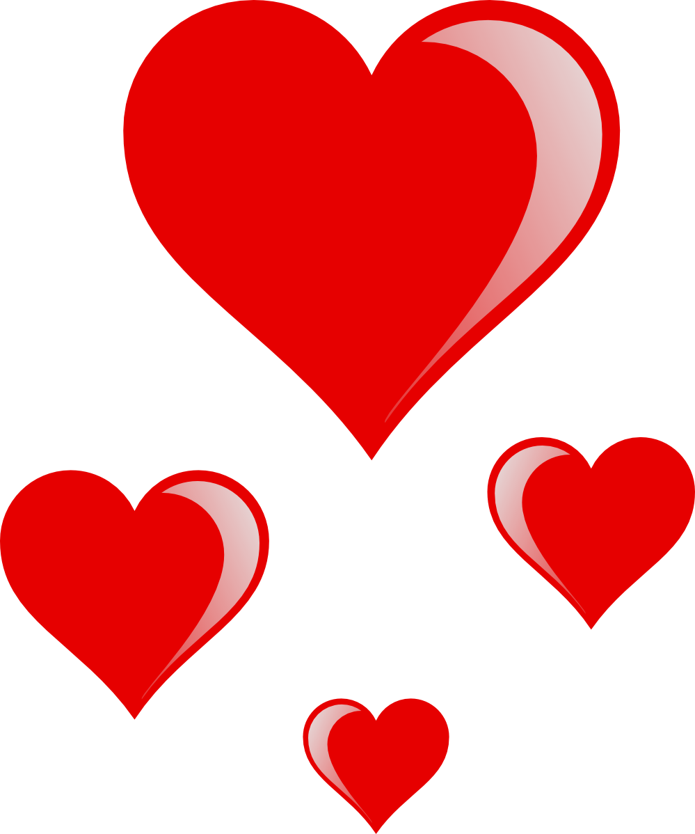 February clipart cluster heart. Clipartist net clip art