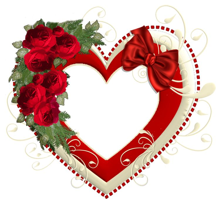 February clipart cluster heart. Best borders graphics