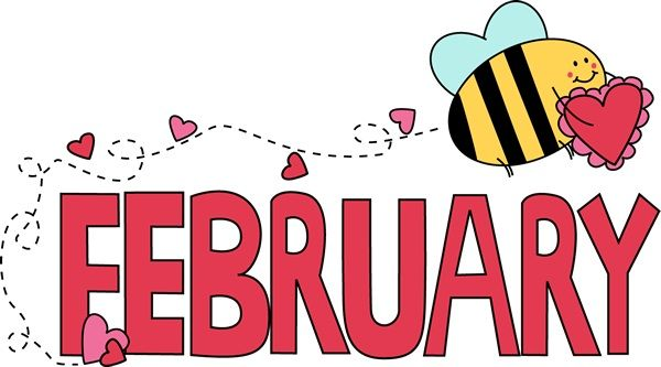 February clipart cute symbol. Best month clip art