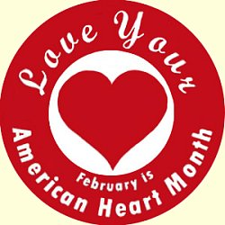 February clipart heat. Heart month