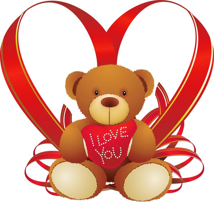 February clipart iloveyou. Of i love you