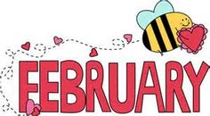 February clipart month. Of valentine s day