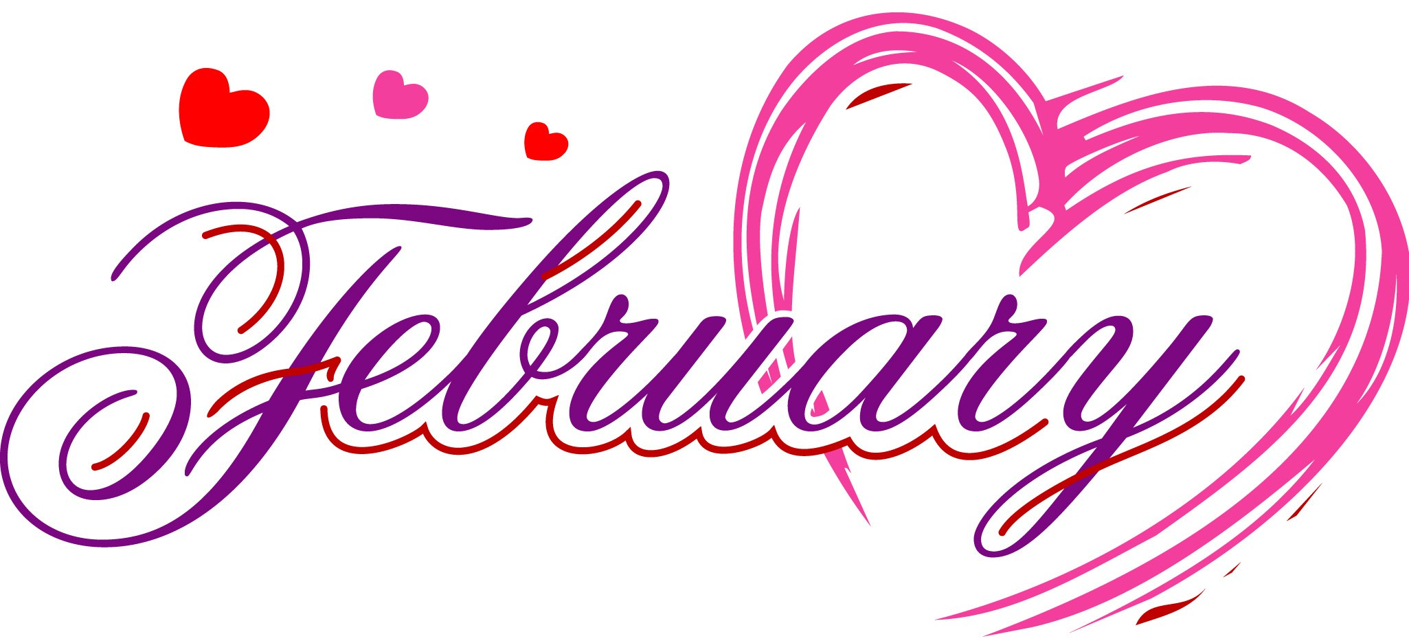 February clipart month. This mchs the county