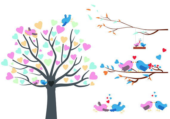 February clipart spring. Birds nest clip art