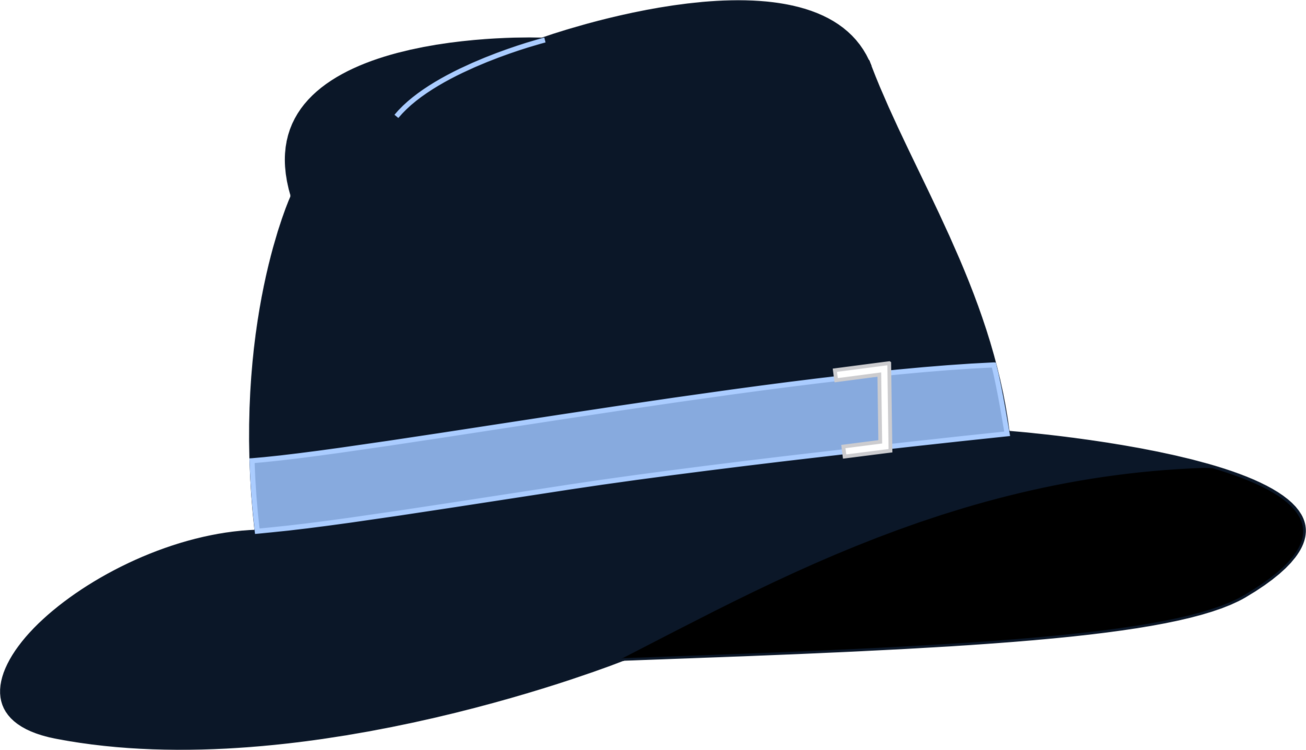 Fedora clipart blue. Top hat istock free