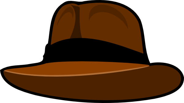 Clip art at clker. Fedora clipart graphic transparent library