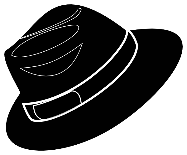 Hat clipart mobster. Free fedora cliparts download
