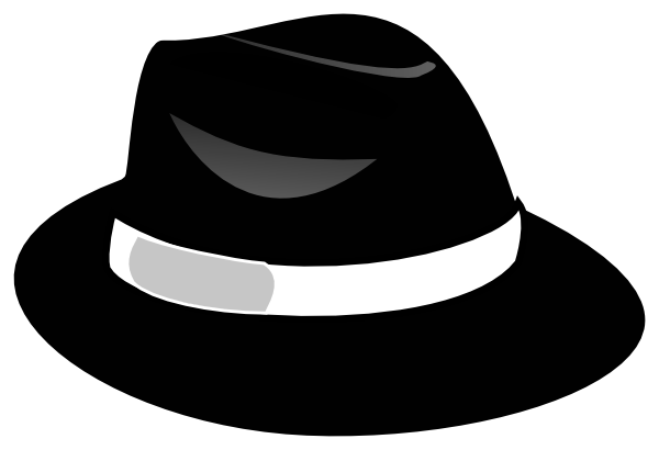 Fedora clipart black baseball cap. Travis clip art at
