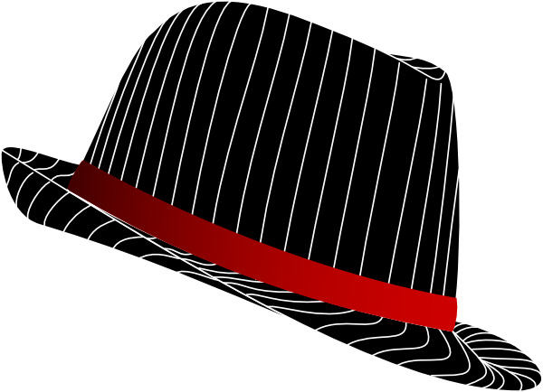 Fedora clipart black baseball cap. Cliparts hat