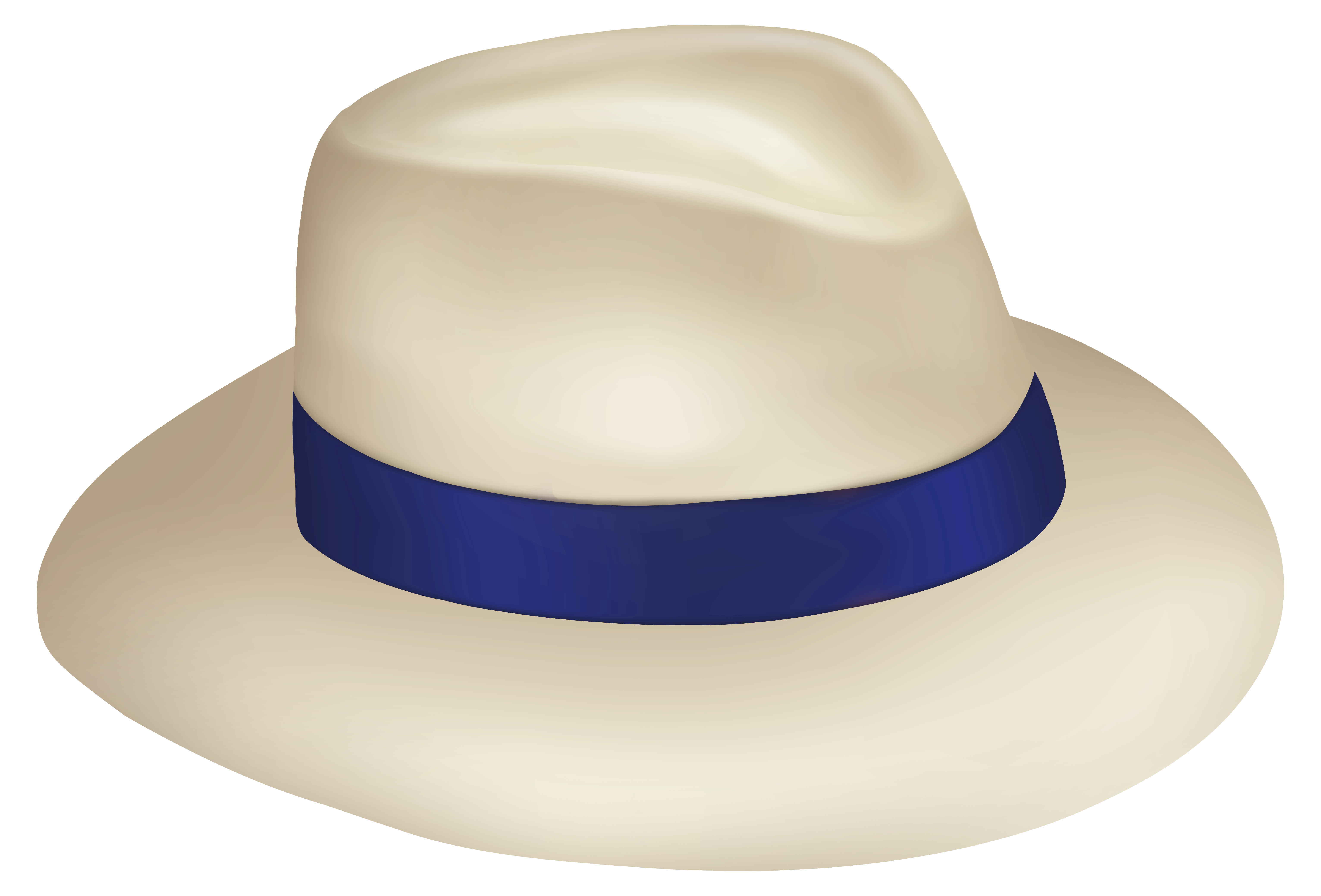 Fedora clipart blue. Panama sun hat with