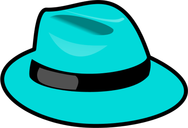 Fedora clipart blue. Red hat vector clip