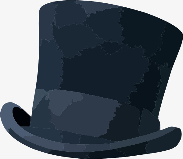 Fedora clipart blue. Hat topper magic png
