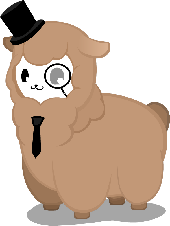 Fedora clipart drawn. Alpaca transparent free on