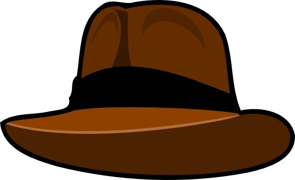 Fedora clipart drawn. Hat drawing at getdrawings
