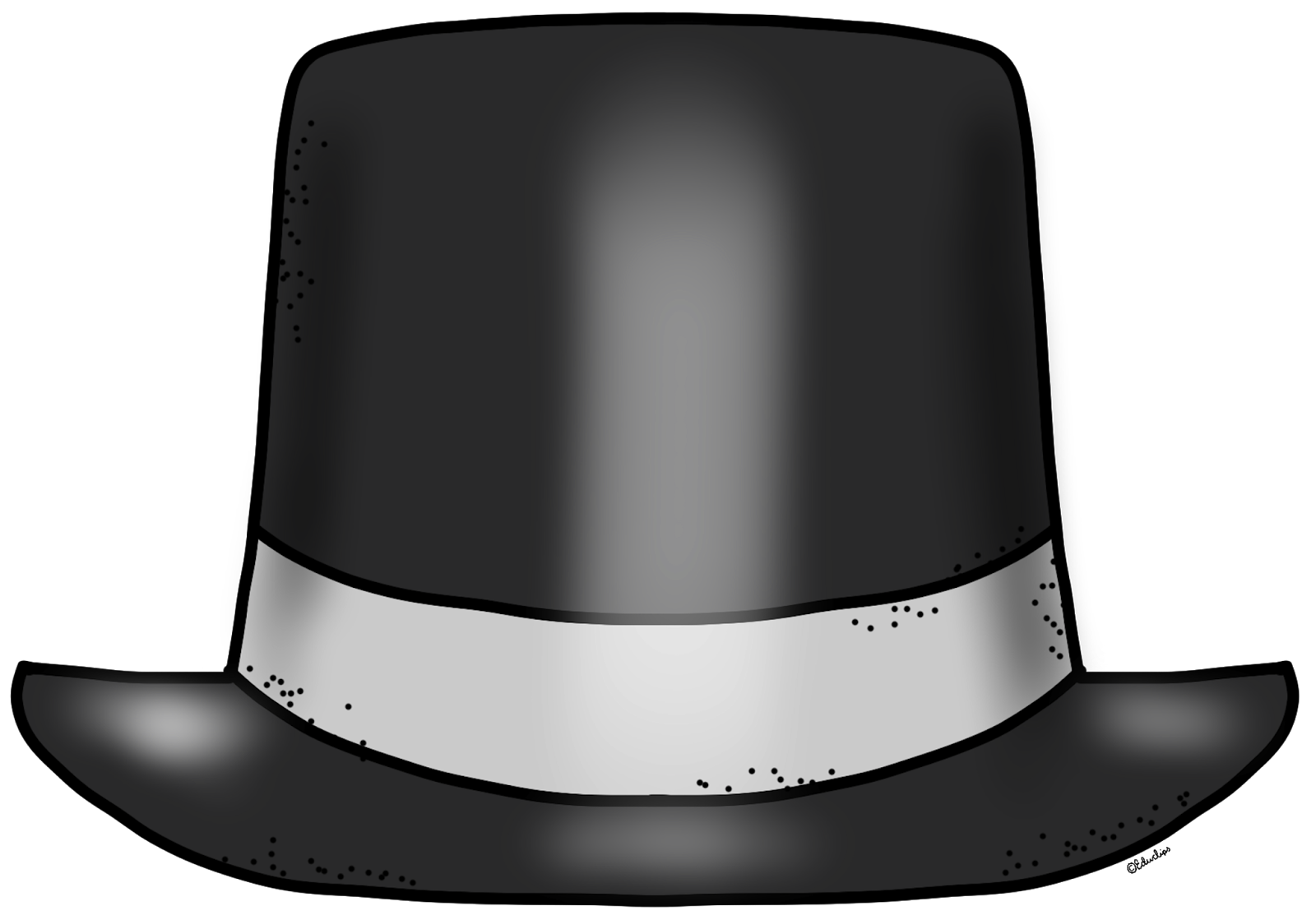 Fedora clipart new year. Free top hat pictures