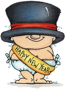 Fedora clipart new year. Best happy images