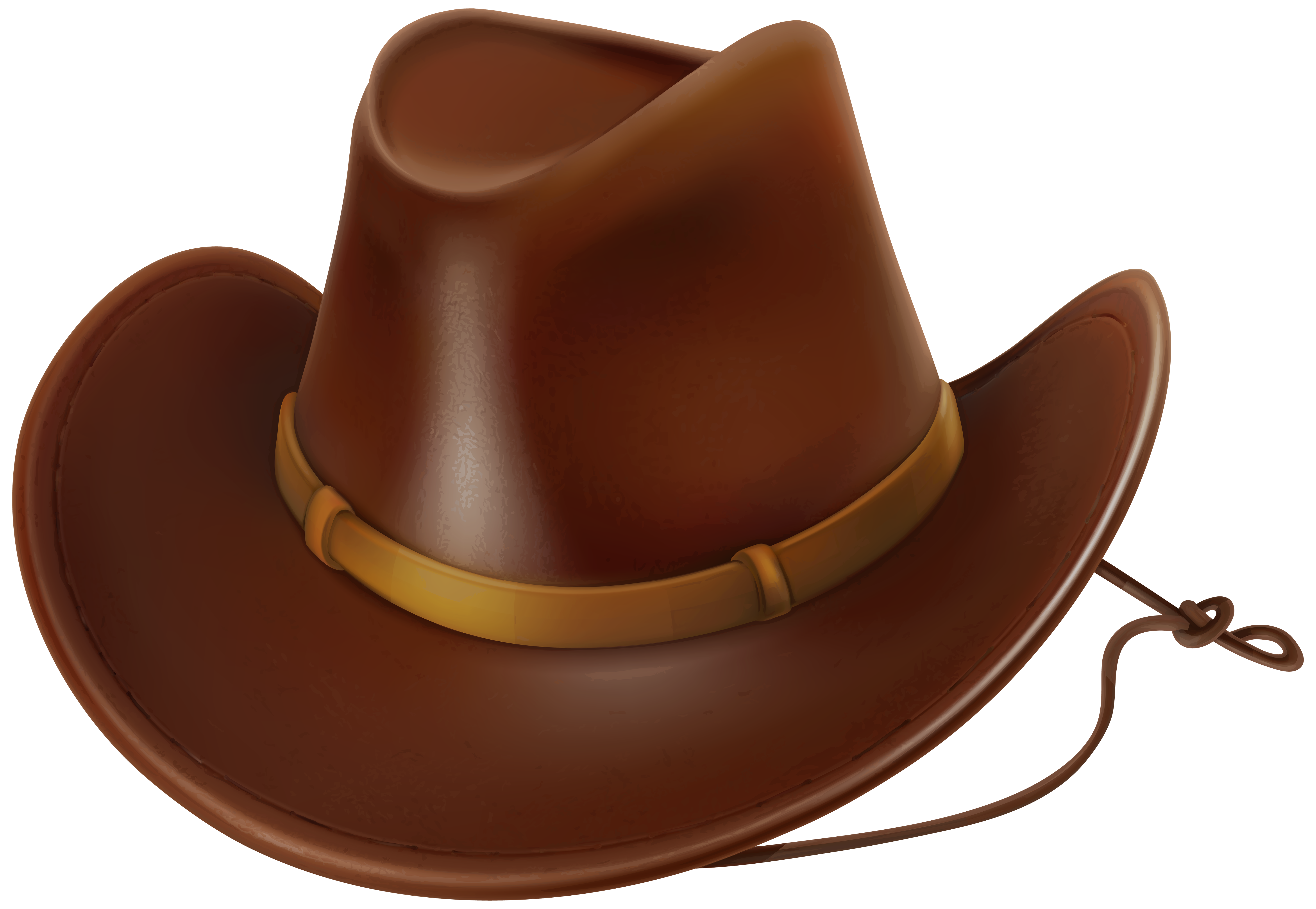 Fedora clipart red cowboy hat. Png clip art image
