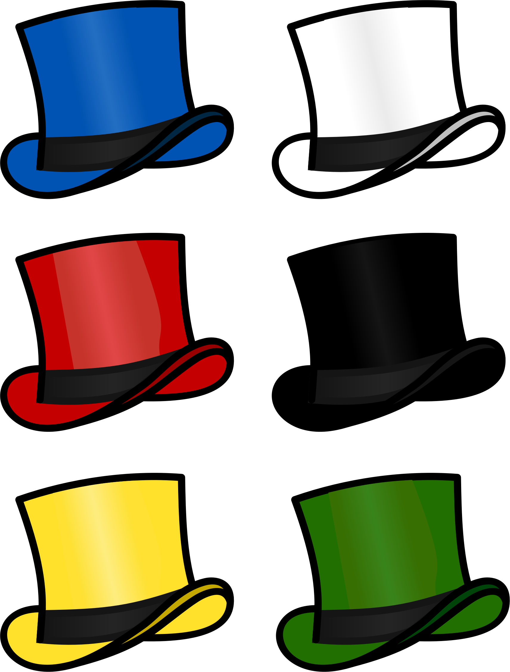 Fedora clipart ringmaster. Top hat at getdrawings