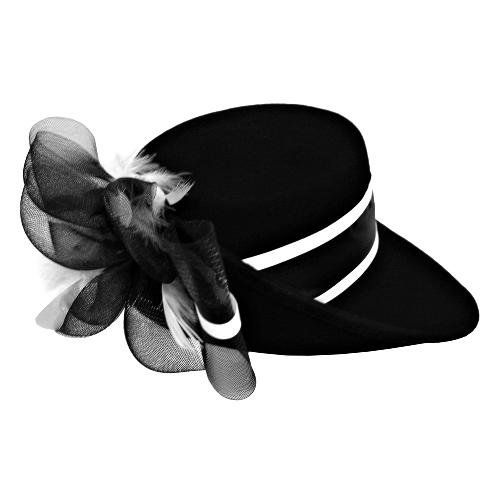 Fedora clipart wedding hat. Black white fancy church