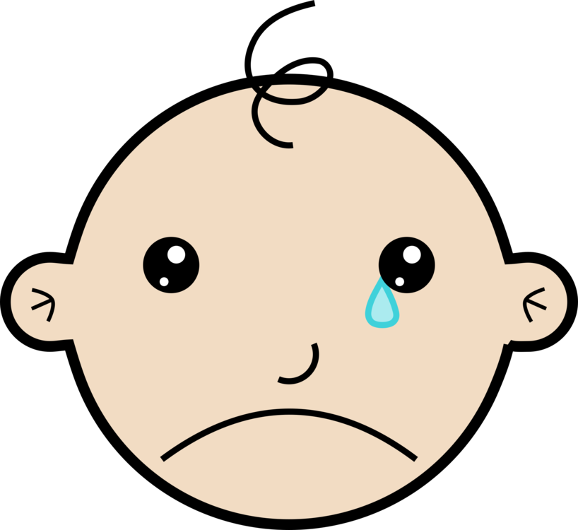 Feelings clipart baby. Sadness infant child crying