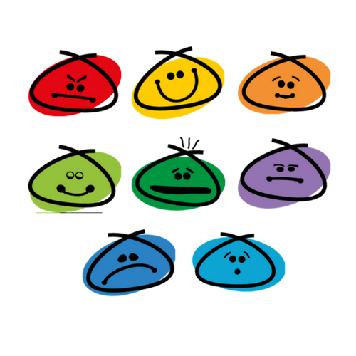 Feelings clipart feeling chart. Amazing facts about