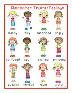 Feelings clipart character feeling. Writers workshop poster adding